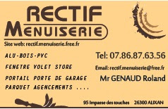 Carte De Visite Rectif Menuiserie 2